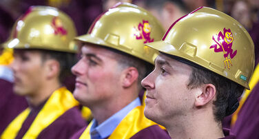 Del E. Webb School of Construction Graduate Hard Hat Gift