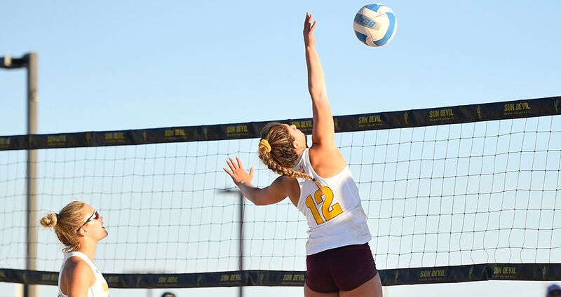 Sun Devil Women's Beach Volleyball