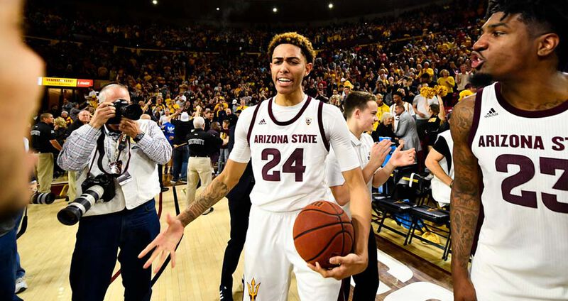 The Sue and Jerry Gilbert Endowed Scholarship for ASU Men's Basketball