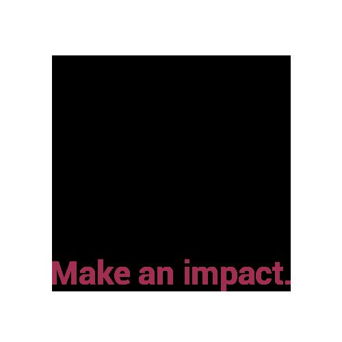 Make an impact.